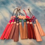 tassels for greyhound collars, sighthounds.