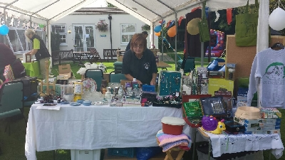 Greyhound Lifeline's stall at a local event.